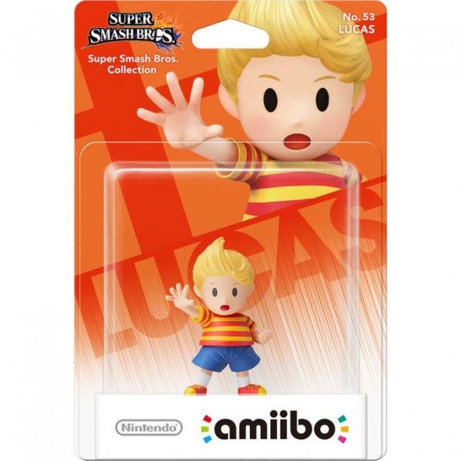 Super Smash Bros Collection Lucas Amiibo