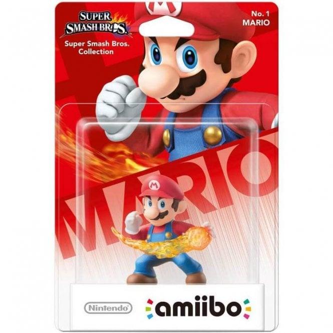 Super Smash Bros Collection Mario Amiibo