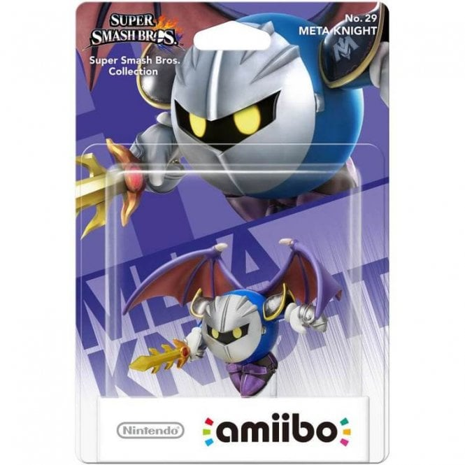 Super Smash Bros Collection Meta Knight Amiibo