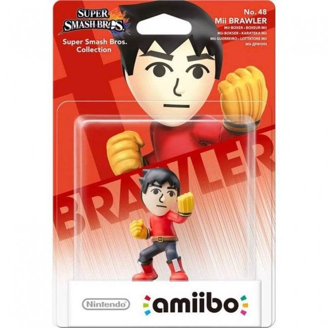 Super Smash Bros Collection Mii Brawler Amiibo