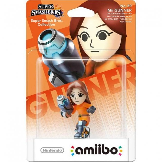 Super Smash Bros Collection Mii Gunner Amiibo