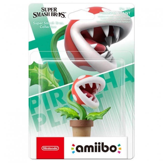 Super Smash Bros: Collection Pirhana Plant Amiibo