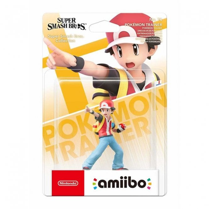 Super Smash Bros Collection Pokemon Trainer Amiibo
