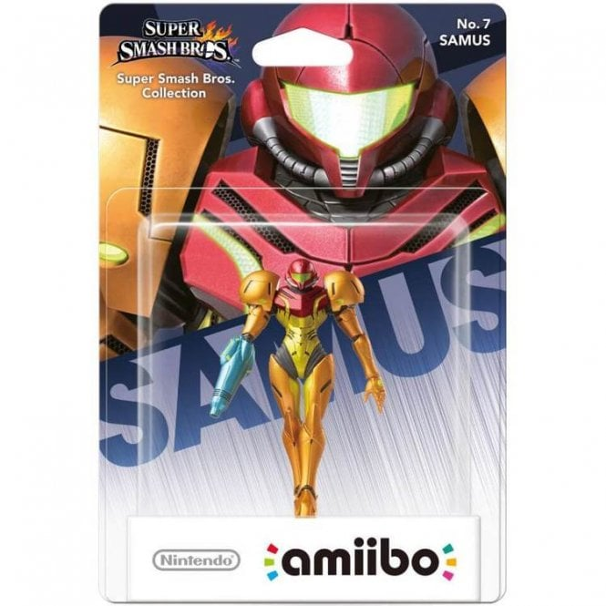 Super Smash Bros Collection Samus Amiibo