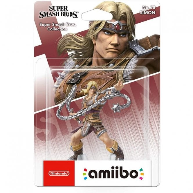 Super Smash Bros Collection Simon Belmont Amiibo