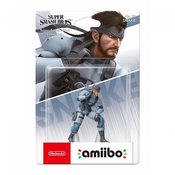 Super Smash Bros: Collection Snake Amiibo