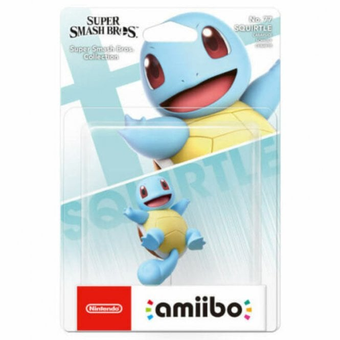 Super Smash Bros Collection Squirtle Amiibo