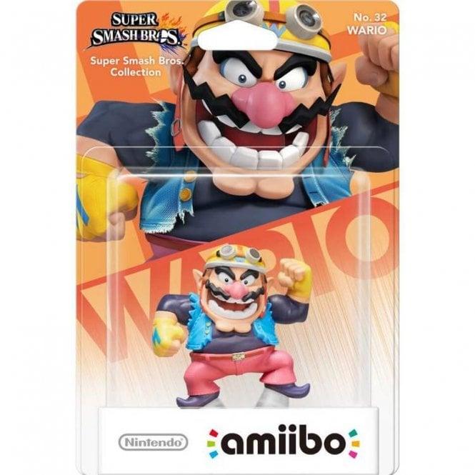 Super Smash Bros Collection Wario Amiibo