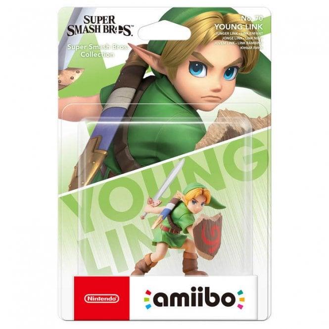 Super Smash Bros Collection Young Link Amiibo