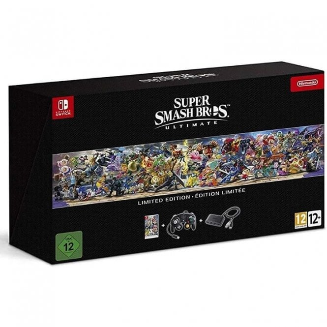 Super Smash Bros. Ultimate Limted Edition Switch