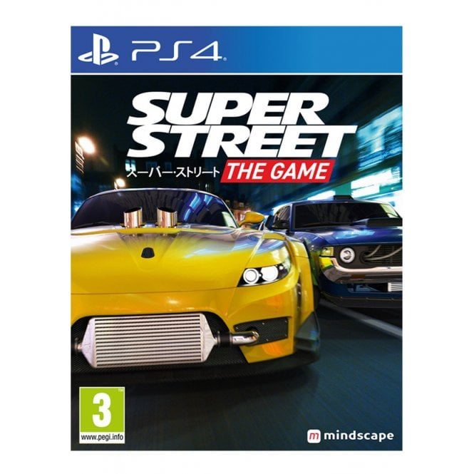 Super Street Racer PS4