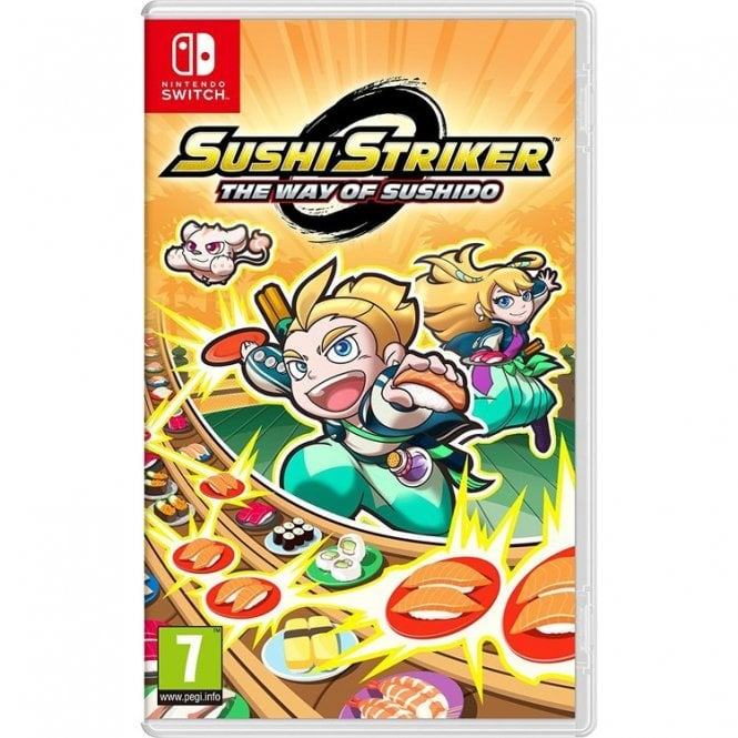 Sushi Striker: The Way of the Sushido Switch