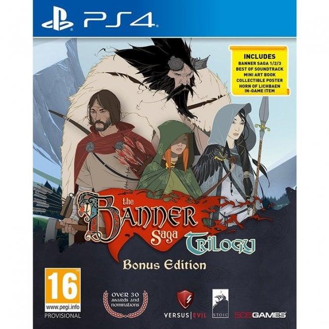 The Banner Saga Trilogy Bonus Edition PS4