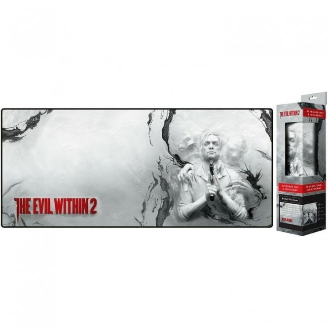 The Evil Within Oversized Keyart Mousepad