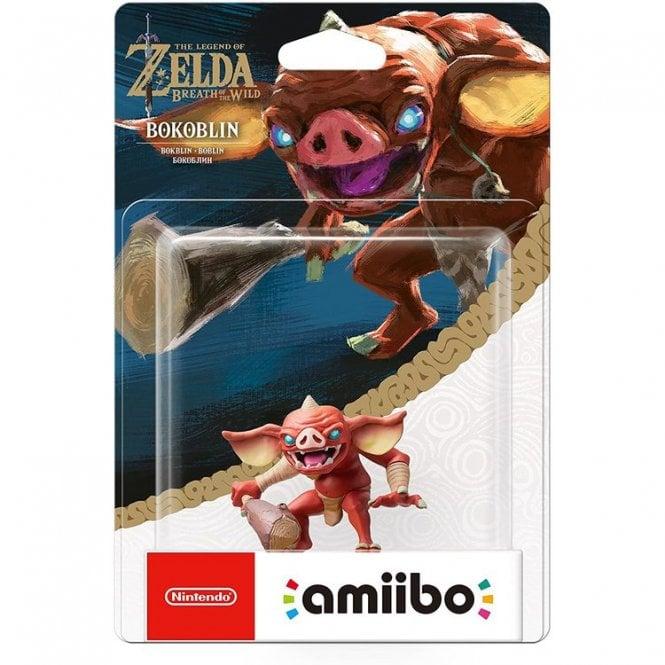 The Legend of Zelda Breath of the Wild Bokoblin Amiibo
