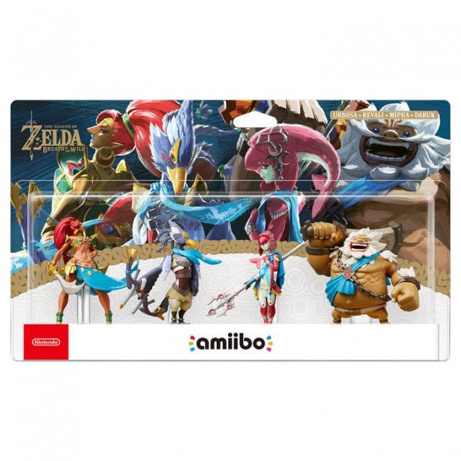 The Legend of Zelda Breath of the Wild Collection Chamipons Set Amiibo
