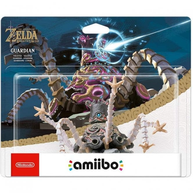 The Legend of Zelda Breath of the Wild Guardian Rider Amiibo