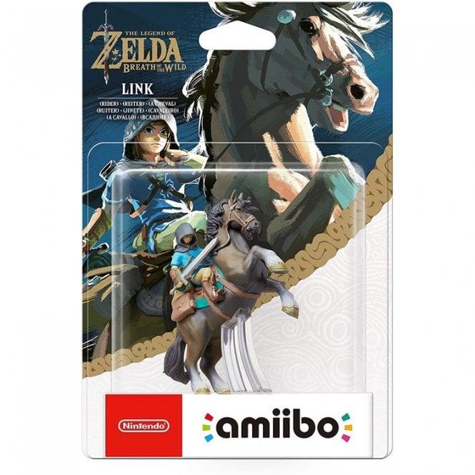 The Legend of Zelda Breath of the Wild Link Rider Amiibo