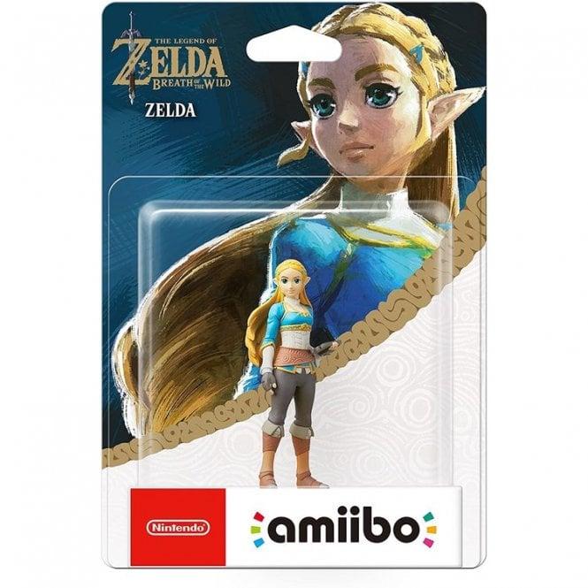 The Legend of Zelda Breath of the Wild Zelda Fieldwork Amiibo