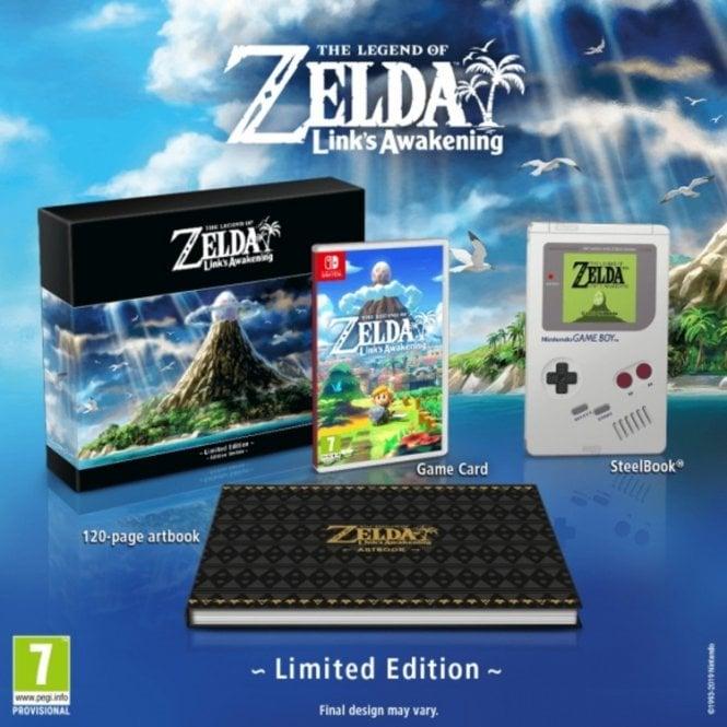 The Legend of Zelda Links Awakening Collector's Edition Switch