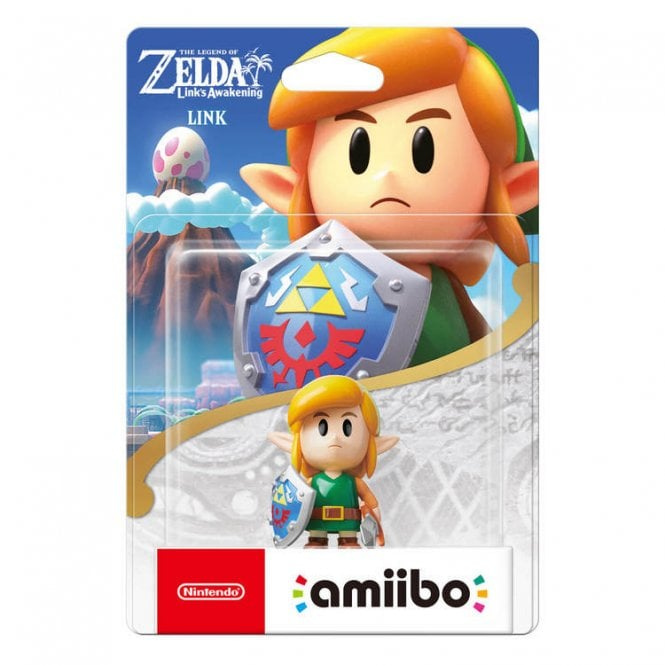 The Legend of Zelda Link's Awakening Link Amiibo