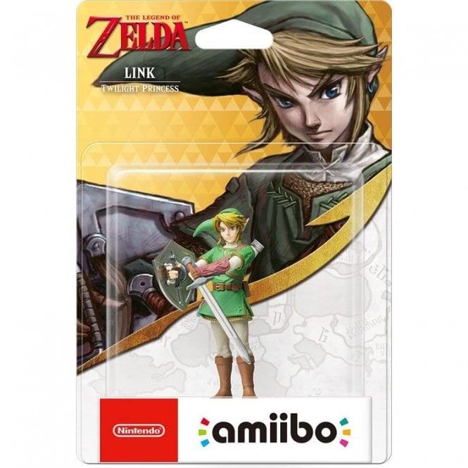 The Legend of Zelda Twilight Princess Link Amiibo