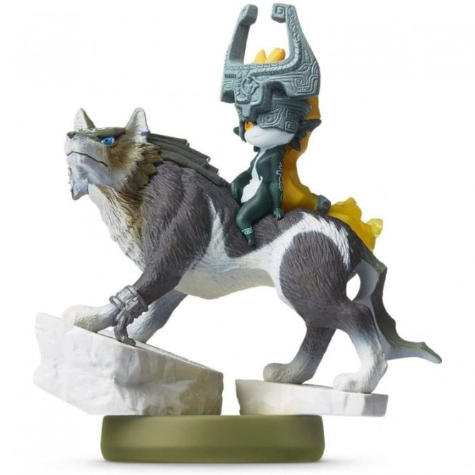The Legend of Zelda Twilight Princess Wolf Link Amiibo