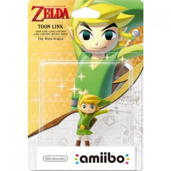 The Legend of Zelda Windwaker Toon Link Amiibo