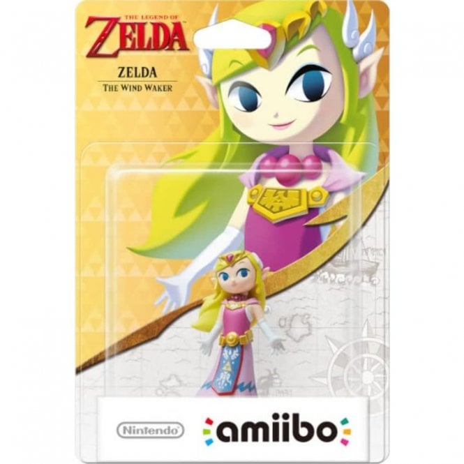 The Legend of Zelda Windwaker Zelda Amiibo