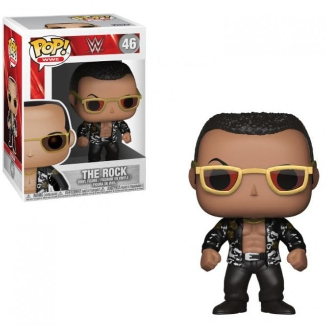 The Rock Old School POP! Vinyl with Chase