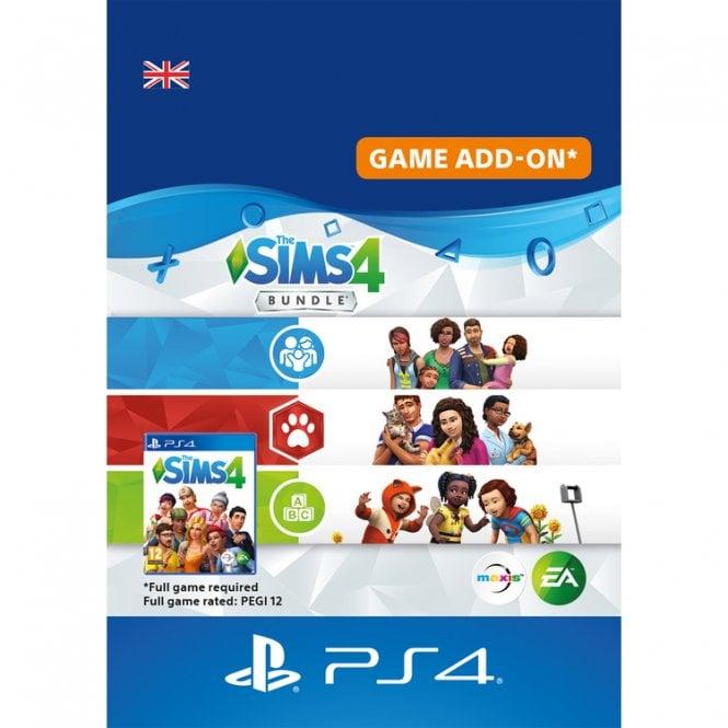 The Sims 4 Bundle : Cats & Dogs, Parenthood, Toddler Stuff
