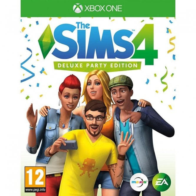 The Sims 4 Deluxe Party Edition Xbox