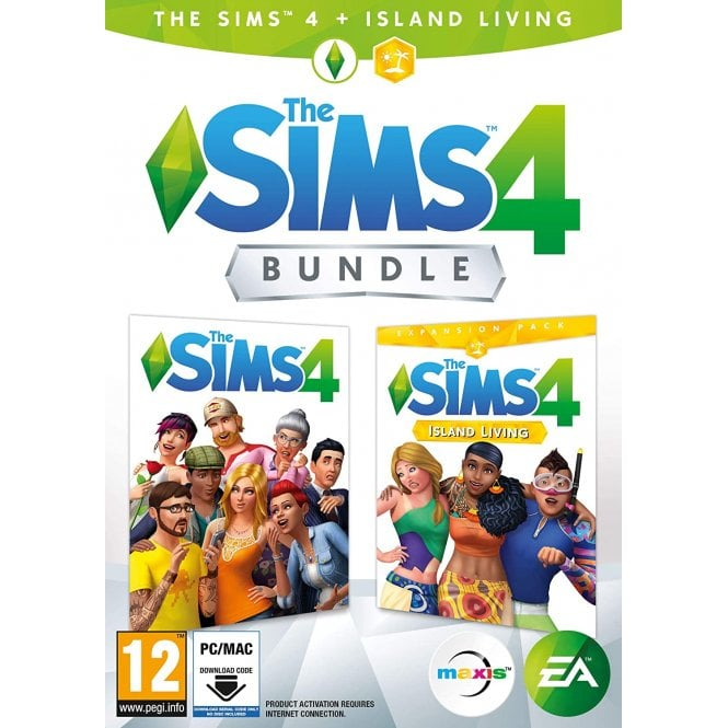 The Sims 4 & Island Living Bundle PC