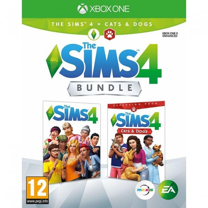 The Sims 4 Plus Cats and Dogs Bundle Xbox One