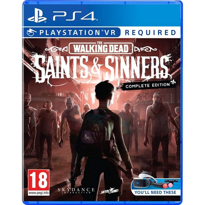The Walking Dead Saints & Sinners Complete Edition PS4