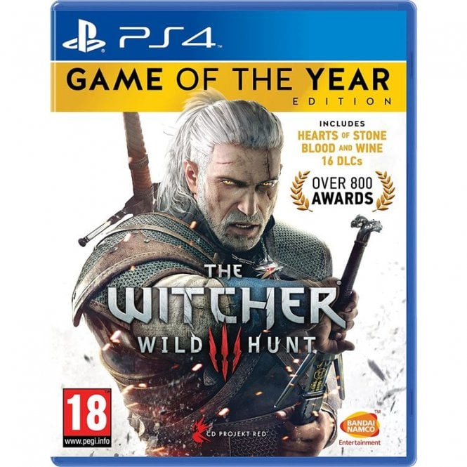 The Witcher III Game of the Year Edition PS4