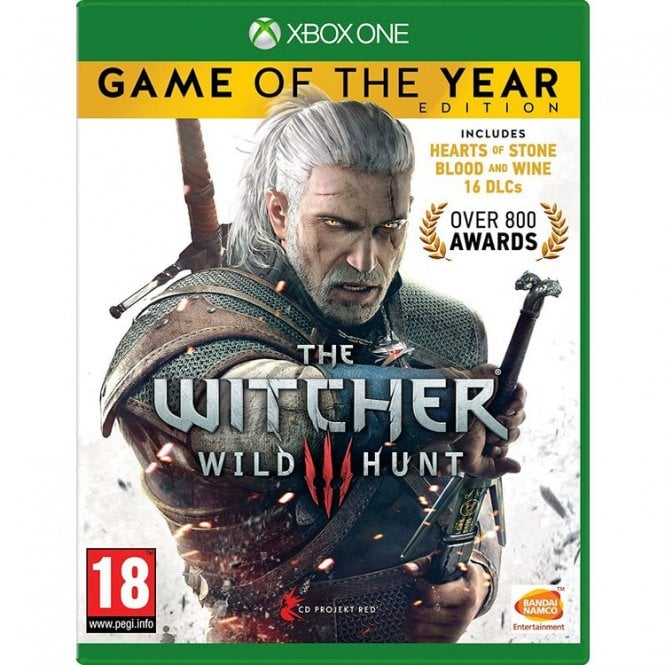 The Witcher III Game of the Year Xbox One