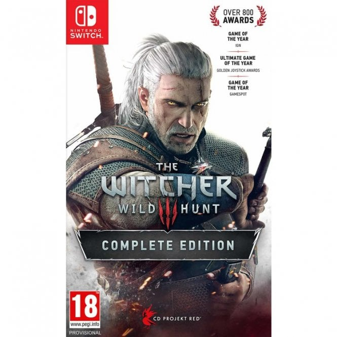 The Witcher III Wild Hunt Complete Edition Switch