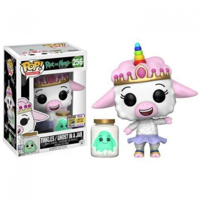 Tinkles & Ghost in Jar Exclusive GITD POP! Vinyl