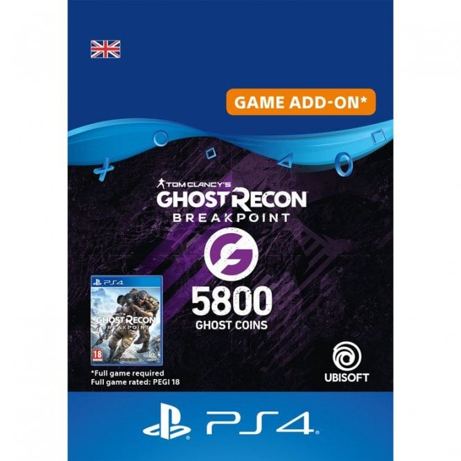 Tom Clancy's Ghost Recon Breakpoint 5800 Ghost Coins