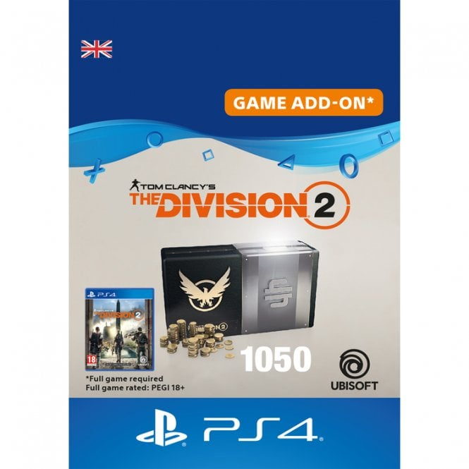 Tom Clancy's The Division 2 1050 Premium Credits Pack