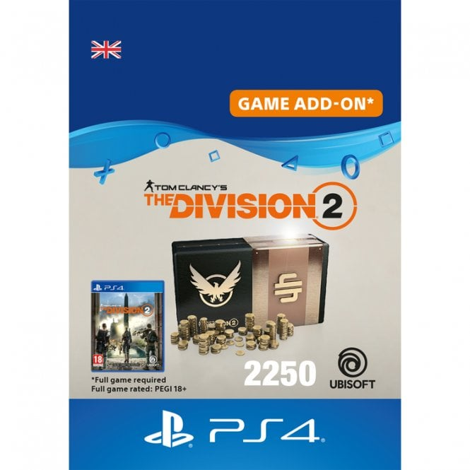 Tom Clancy's The Division 2 2250 Premium Credits Pack