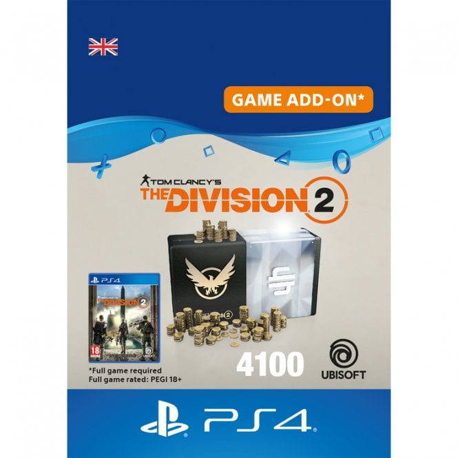 Tom Clancy's The Division 2 4100 Premium Credits Pack