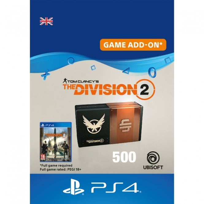 Tom Clancy's The Division 2 500 Premium Credits Pack