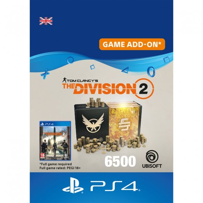 Tom Clancy's The Division 2 6500 Premium Credits Pack