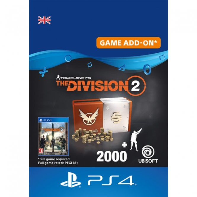 Tom Clancy's The Division 2 Welcome Pack