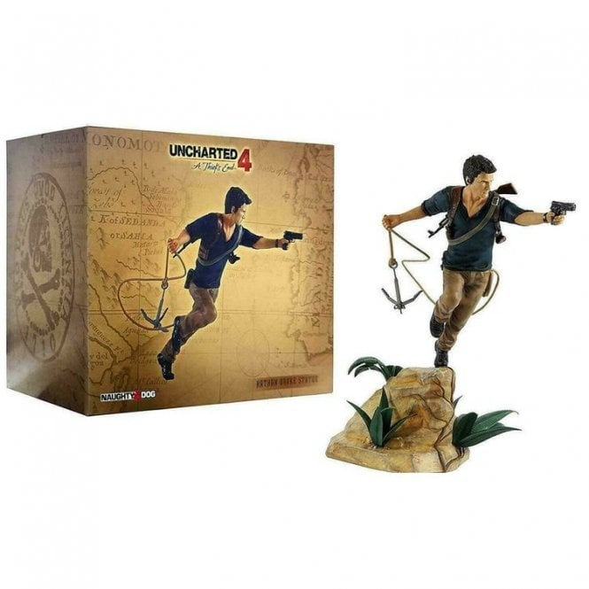Uncharted Nathan Drake Statue