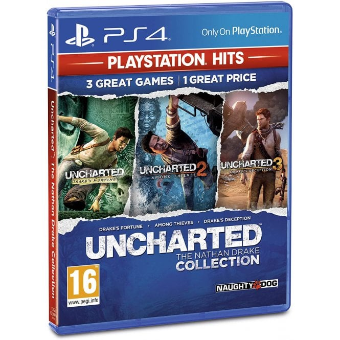 Uncharted The Nathan Drake Collection Playstation Hits