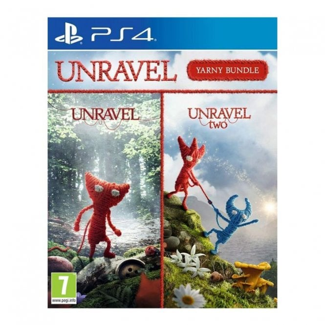 Unravel 1 and Unravel Two The Yarny Bundle PS4