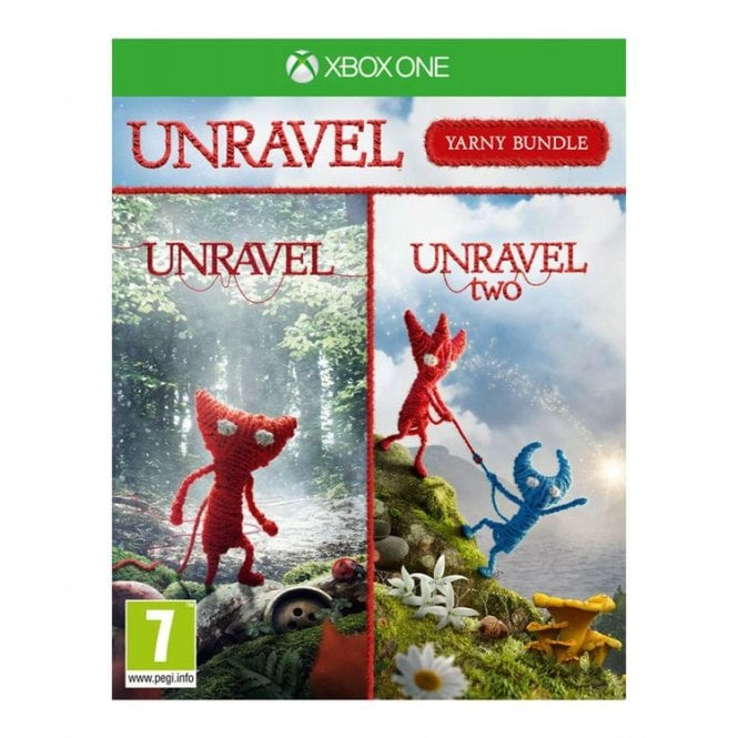 Unravel 1 and Unravel Two The Yarny Bundle Xbox